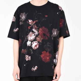 ラッドミュージシャン(LAD MUSICIAN)のLAD MUSICIANの花柄Tシャツ(Tシャツ/カットソー(半袖/袖なし))