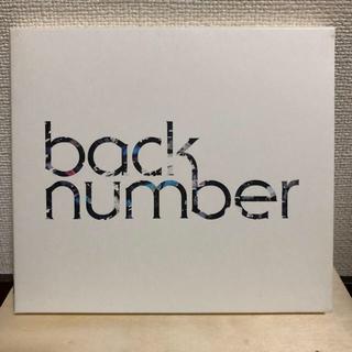 バックナンバー(BACK NUMBER)のbacknumber ラブストーリー初回限定盤(ポップス/ロック(邦楽))