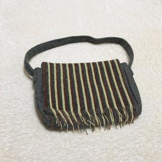 アンティックバティック(Antik batik)のANTIK BATIK アンティックバティック ビーズ×フェルトハンドバッグ(ハンドバッグ)