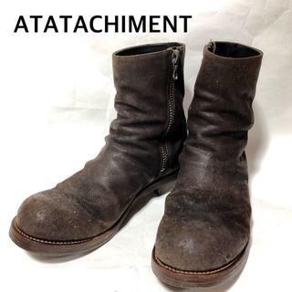 アタッチメント(ATTACHIMENT)のアタッチメント ATTACHMENT オンタリオ ワンピースサイドジップブーツ(ブーツ)