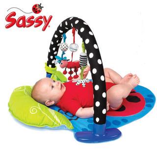 サッシー(Sassy)のSassy サッシーベビージム プレイマット Stim Gym(ベビージム)