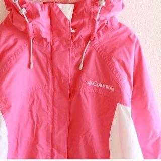 コロンビア(Columbia)のUS コロンビア OMN-TECH pinkwh マウンテン ジャケット S(登山用品)