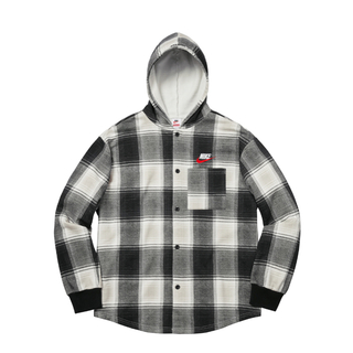 シュプリーム(Supreme)のSupreme®/Nike® Plaid Hooded Sweatshirt (パーカー)