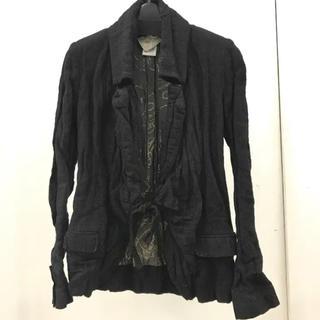 アンヴァレリーアッシュ(ANNE VALERIE HASH)のANNE VALERIE HASH シワ加工羽織ジャケット(テーラードジャケット)