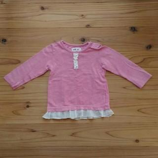 キムラタン(キムラタン)のベビー 女の子 80 長袖シャツ 秋冬(Tシャツ)