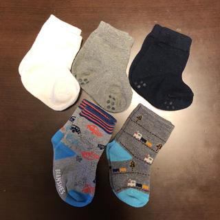 ムジルシリョウヒン(MUJI (無印良品))のベビー靴下11-13 5足セット(靴下/タイツ)