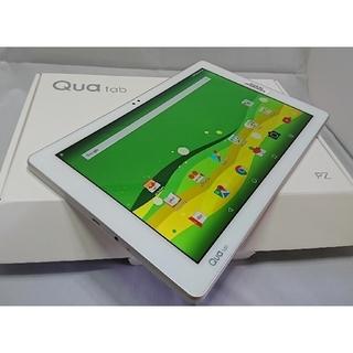 エルジーエレクトロニクス(LG Electronics)の新品/未使用★SIMフリー★au Qua tab PZ ホワイト LGT32  (タブレット)