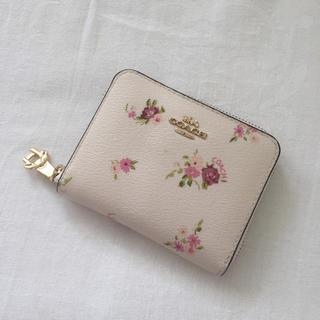コーチ(COACH)のCOACH 花柄 二つ折り財布(財布)