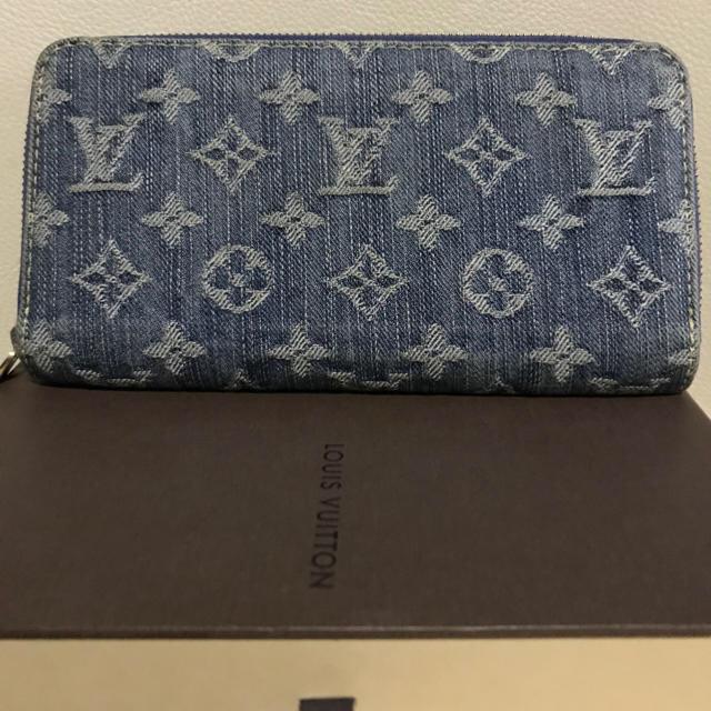 low priced 0dd10 3820b ルイヴィトンモノグラムデニム財布 | フリマアプリ ラクマ