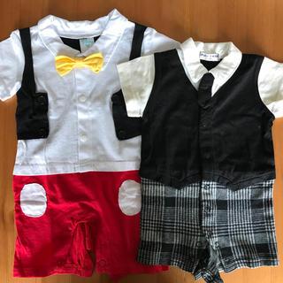 ディズニー(Disney)の男の子 ミッキー フォーマル服(セレモニードレス/スーツ)