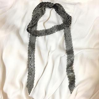 ザラ(ZARA)のキラキララインストーン チョーカー アレンジ ネックレス(ネックレス)