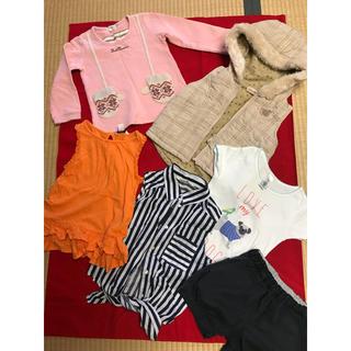 MUJI (無印良品) - 100センチ 女の子 まとめ売り ブランド服 無印良品 等 ボア ベスト
