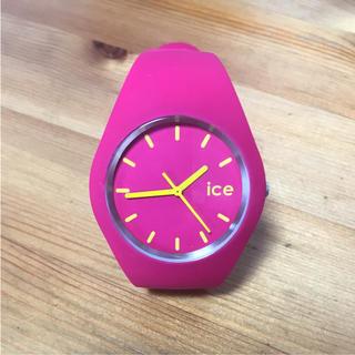 アイスウォッチ(ice watch)のice ウォッチ ビビットピンク(腕時計)