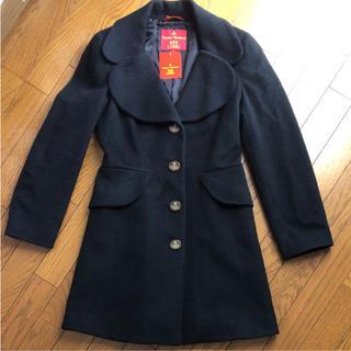 ヴィヴィアンウエストウッド(Vivienne Westwood)のVivienne Westwood ラブ襟コート(チェスターコート)