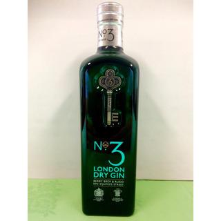 NO3 ロンドン ドライジン キングスマン・ゴールデンサークル記念ボトルBB&R(蒸留酒/スピリッツ)