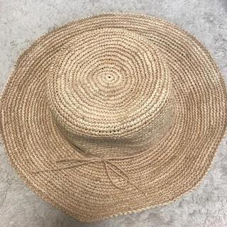 ムジルシリョウヒン(MUJI (無印良品))のラフィアハット(麦わら帽子/ストローハット)