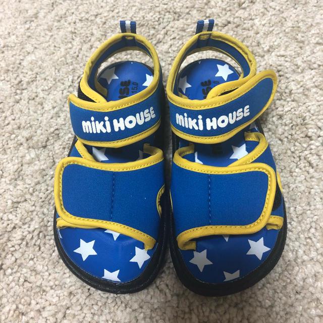 mikihouse(ミキハウス)のミキハウス キッズサンダル キッズ/ベビー/マタニティのキッズ靴/シューズ (15cm~)(サンダル)の商品写真