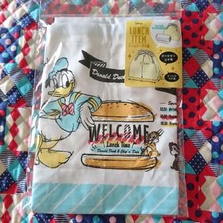 チップアンドデール(チップ&デール)のディズニー チップとデール ドナルド スリムランチ巾着 お弁当袋 キャラクター(ランチボックス巾着)