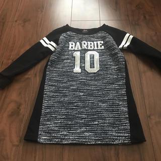 バービー(Barbie)のBARBIE ♡女児 ワンピース 120センチ(ワンピース)