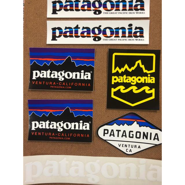 patagonia(パタゴニア)のヤックル様専用7枚セット+2 インテリア/住まい/日用品の文房具(シール)の商品写真