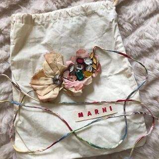 Marni*ビジュー付きアクセサリー