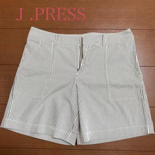 ジェイプレスレディス(J.PRESS LADIES)の☆新品・未使用‼️J .PRESS  レディース   ショートパンツ11号(ショートパンツ)