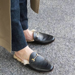 ドゥーズィエムクラス(DEUXIEME CLASSE)のCAMINANDO BIT FUR 35サイズ(ローファー/革靴)