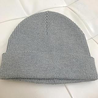 ケービーエフ(KBF)のKBF ニット帽子 新品(ニット帽/ビーニー)