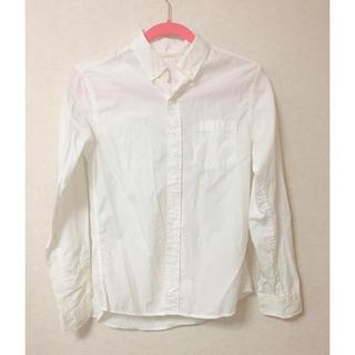 ジーユー(GU)のGU ワイシャツ 白(シャツ/ブラウス(長袖/七分))