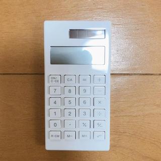 ムジルシリョウヒン(MUJI (無印良品))の無印 電卓(オフィス用品一般)