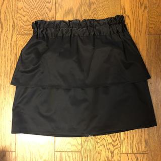 チュウチュ(ciu ciu)のCiuciu ミニ スカート 黒 ブラック(ミニスカート)