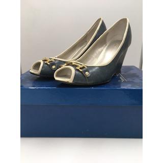 ロペピクニック(Rope' Picnic)のROPE Picnic ロペピクニック ビット シューズ 靴 37 箱付き 美品(ハイヒール/パンプス)
