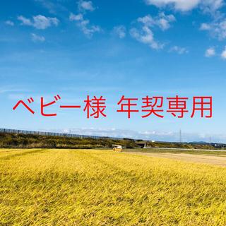【あや様 専用】平成30年度こまち中粒米25Kg×3、こまち精米25Kg×1(米/穀物)
