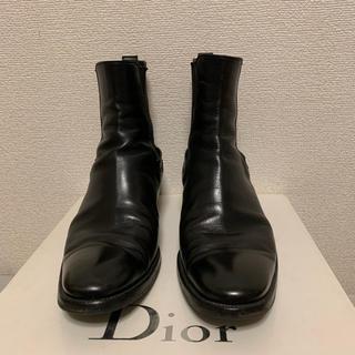 save off dcc60 2fb0b Dior homme ディオールオム ヒール ブーツ サイドゴア