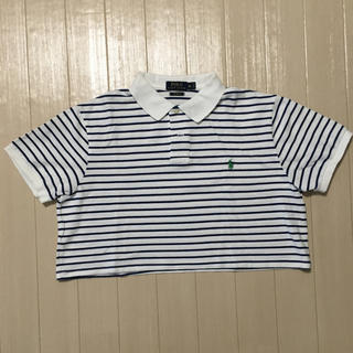 POLO RALPH LAUREN - POLO⭐︎リメイク ポロシャツ