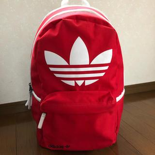 アディダス(adidas)のadidas originals♡アディダス オリジナルス♡赤♡レッド♡海外限定(バッグパック/リュック)