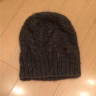 ルシェルブルー(LE CIEL BLEU)のルシェルブルー ニット帽(ニット帽/ビーニー)
