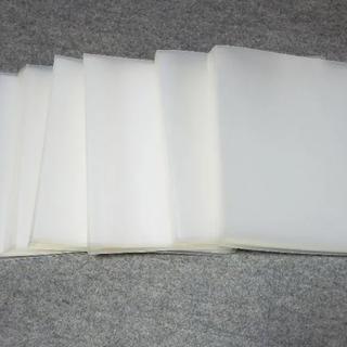 ムジルシリョウヒン(MUJI (無印良品))の無印 A4 クリアファイル クリアホルダー 40ポケット 6冊セット(ファイル/バインダー)