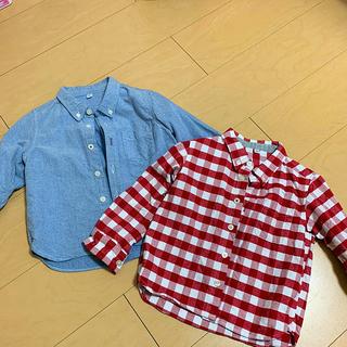 MUJI (無印良品) - 無印良品 オーガニックコットンシャツ