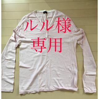 ジョゼフ(JOSEPH)のJOSEPH HOMME カットソー(カシミヤ入り)(Tシャツ/カットソー(七分/長袖))