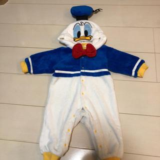 ディズニー(Disney)のドナルドダック ディズニー ロンパース ハロウィン 80 仮装 コス(ロンパース)