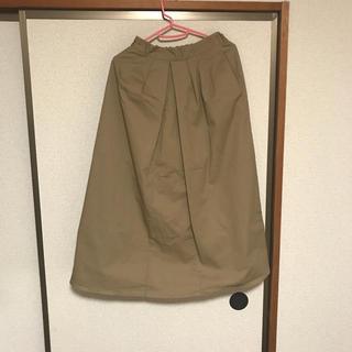 ジーユー(GU)のGU チノスカート(ロングスカート)