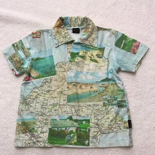 ポールスミス(Paul Smith)のPaul Smith/ポールスミス マップ柄 シャツ 100(Tシャツ/カットソー)