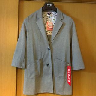 シマムラ(しまむら)の新品 しまむら 140 女子 ポンチ チェスターコート ジャケット アウター(コート)