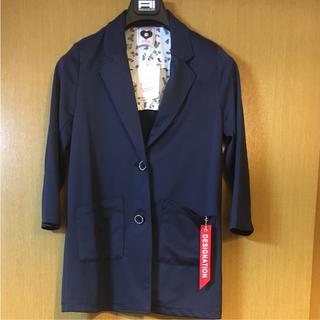シマムラ(しまむら)の新品 しまむら 女子 女児 140 チェスターコート ジャケット アウター (コート)