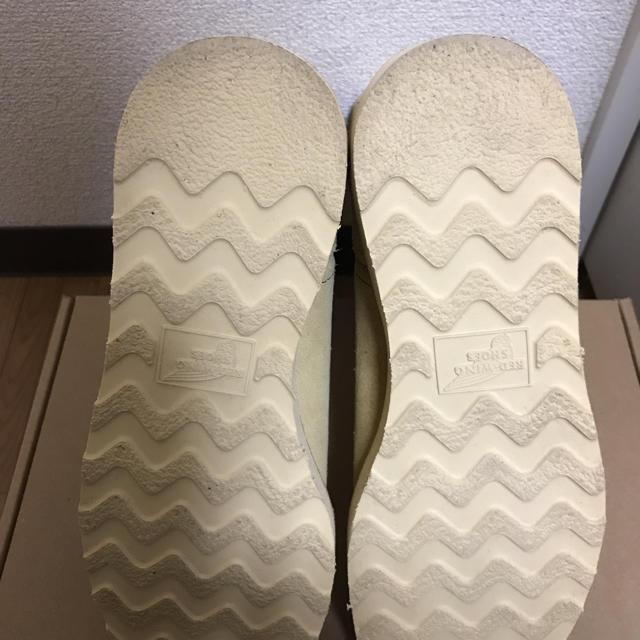 REDWING(レッドウィング)のRED WING ペコスブーツ ベージュ スエード レディースの靴/シューズ(ブーツ)の商品写真