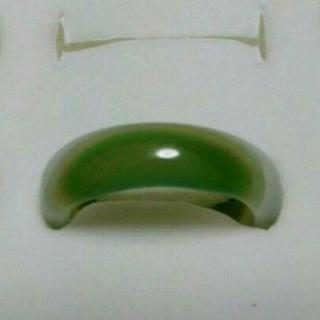 指輪 サイズ14.5号 天然石 メノウ 瑪瑙(リング(指輪))