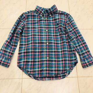 ラルフローレン(Ralph Lauren)のラルフローレン チェックシャツ キッズ(ブラウス)