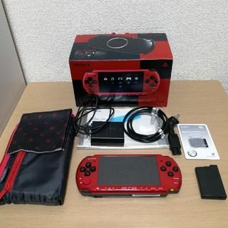 PlayStation Portable - PSP-3000 バリューパック レッド/ブラック