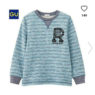 ジーユー(GU)の美品✨GU130㎝プルオーバー❤(Tシャツ/カットソー)